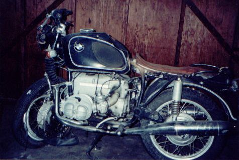 1971 R 75/5 BMW Motorcycle